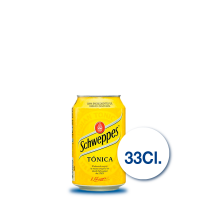 Schweppes Tónica, 33 cl....